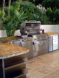 Granite For Outdoor Kitchen Outdoor Kalamazoo Modular Outdoor Kitchen With Granite