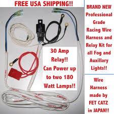 wiring harness 4 catz hella piaa bosch kc fog lights