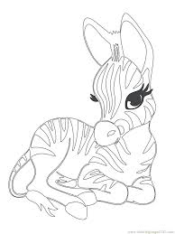 Cute Animals Coloring Pages Free Printable Of