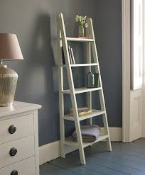 furniture ladder shelves. enchanting ladder bookshelf magically beautify your home interior gray paint ideas with white and chest also table lamp furniture shelves k
