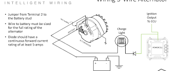 1979 ford alternator wiring 3 wire hot rod forum hotrodders 1985 ford alternator wiring diagram at 1979 Ford Alternator Wiring Diagram