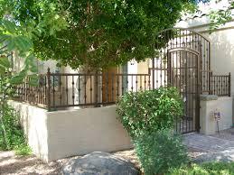 Decorative Security Fencing Phoenix Custom Wrought Iron Fences Ornamental Wrought Iron Gates
