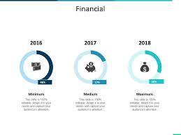 Financial Minimum Medium Maximum Ppt Summary Infographic