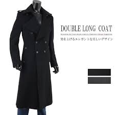 trench coat long coat mens double trench coat cashmere napoleon v261029 03