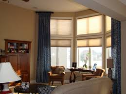 For Bay Windows In A Living Room Cool Window Treatments For Bay Windows Window Treatments