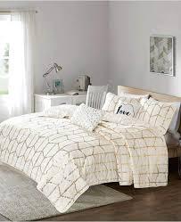 metallic bedding white and silver uk rose gold