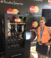 Mastercard Priceless Surprises Vending Machine