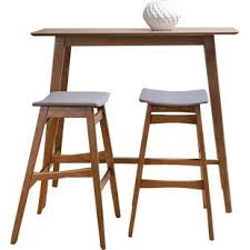 bar table and chairs. Fletcher 3 Piece Pub Table Set Bar And Chairs