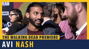 Avi Nash - THE WALKING DEAD Season 10 Red Carpet Premiere Interview -  YouTube