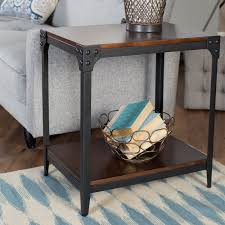 full size of end tables wood and metal end table wood and metal end tables