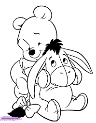 Small Picture Baby Pooh Coloring Pages Disney Coloring Book