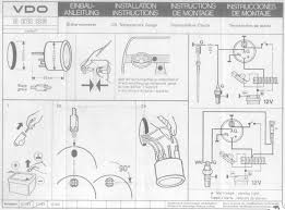 retro fitting supplementary gauges page kombiclub vdo cockpit oil temperature gauge installation instructions pages 1 2