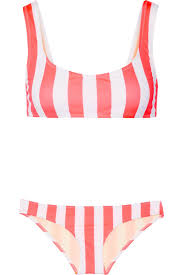 solid and striped reviews. Modren And Solid And Striped The Elle Striped Bikini Pink Women Clothing Beachwear  100 High Qualitysolid The Ellewholesale Price Inside And Reviews H