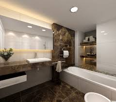 guest bathroom ideas. Appealing Guest Bathroom Ideas With Floating Vanity And Charming Glass Potted Flowers On It R