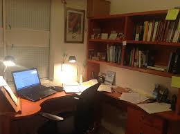 my home office. Home Office In Aguascalientes At Night My