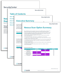 Nessus Scan Summary Report - Sc Report Template | Tenable™