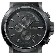 hugo boss black 1512393 watch shade station