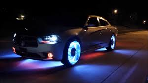 Bad ass cars with lights under