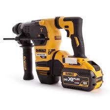 dewalt flexvolt drill. dewalt dch333x2 54v brushless xr flexvolt sds rotary hammer 3-mode in tstak box ( flexvolt drill
