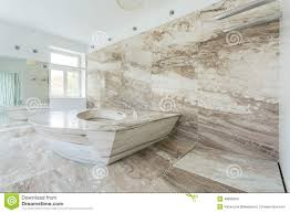 Small Picture Luxury Bathroom With Marble Tiles Stock Photo Image 48830560