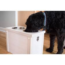 ecoFlex Raised Dog Diner with Storage - Free Shipping Today - Overstock.com  - 20623033