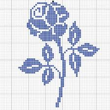 Cross Stitch Flower Patterns Magnificent 48 Best Esquemas Images On Pinterest Cross Stitch Embroidery