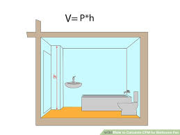 bathroom fan sizing. Image Titled Calculate CFM For Bathroom Fan Step 3 Sizing