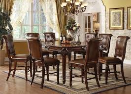 plerable dining room chairs dallas acme 60080 winfred counter height set tx