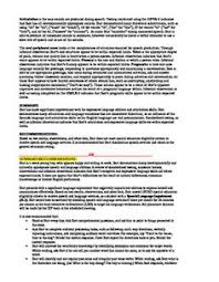 Speech And Language Assessment Report Sample Template | Slp ...