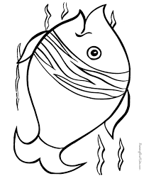 Small Picture Fish Animal Coloring Pages Fish Coloring Pages For Preschool