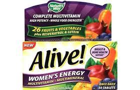 best multivitamins for women alive multivitamin multimineral women s energy