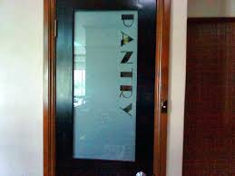 etched glass pantry door modern doors masterful half decorations accessories frosted cost