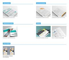 Office Stationery Design Templates Graphics Templates Free Downloads Free Graphic Resource
