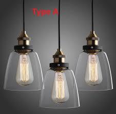 vintage kitchen lighting fixtures. Nordic Vintage Edison Pendant Lamp American Country Kitchen Lights Fixtures Modern Glass Industrial Luminaire 110v 220v Lighting H