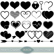 hearts silhouette hearts clipart vector hearts clip art heart silhouette clipart