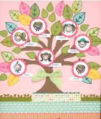How To Make Family Tree On Chart Paper Over 50 Free Family Tree Crafts Patterns At Allcrafts