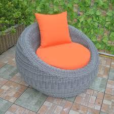 round wicker outdoor chair suppliers