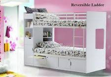 bunk beds for girls with storage. Plain Storage White Platinum Bunk Bed With Storage  New Childrens Beds  Drawers U0026  Cupboards On For Girls P