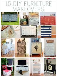 diy furniture makeovers. Revamp Your Old Furniture With 15 DIY Makeovers Diy R