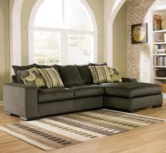 Freestyle Pewter Two Piece Sectional Sofa by Ashley Furniture