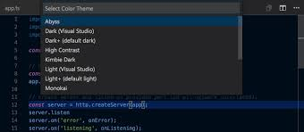 themes create visual studio code themes