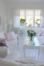 25+ Charming Shabby Chic Living Room Decoration Ideas - For Creative ...
