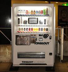 Hair Vending Machine Extraordinary Toni Guy Salon Japan Drinks As Well As Hair Products For The