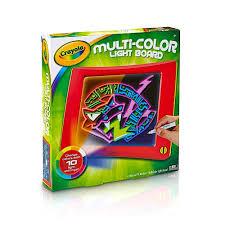 Electronic Light Board Crayola Multi Color Light Board Art Tools Electronic Lights And Motion
