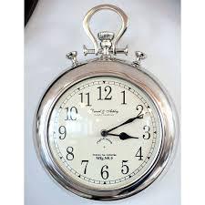 stopwatch wall clocks giant stopwatch wall clock silver pocket watch wall clock pocket watch wall clocks