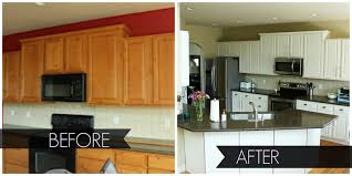 pictures of before and after kitchen cabinets. image of: painting oak kitchen cabinets before and after pictures of r
