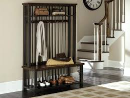 Coat Rack Hallway Entrance Furniture Idea Mudroom Hall Console Table With Shoe Storage 80
