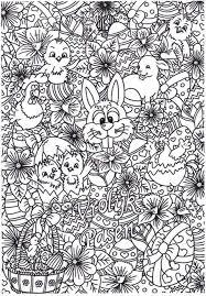Kleurplaat Kleurplaten Mandalas Dibujos En Pascua