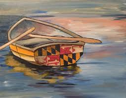 Wine And Design Leonardtown Maryland Rowboat