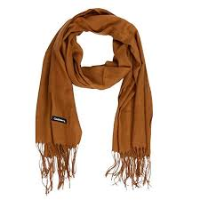 Buy asiproper <b>Fashion</b> Women Solid Color <b>Tassel</b> Long Scarf Winter ...